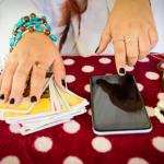 Kartenlegen am Handy